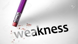 35516599-eraser-deleting-the-word-weakness-stock-photo