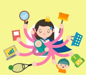 super-woman-multitasking-illustration_23-2147534278
